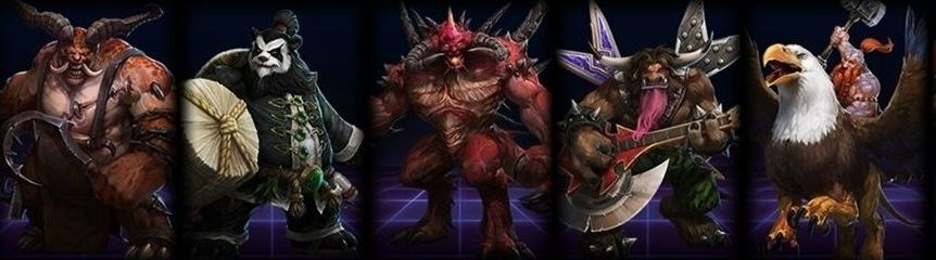 Heroes of the storm Champions